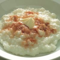 Danish Christmas - rice pudding