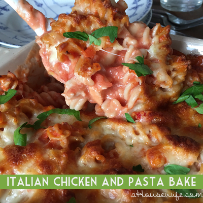 ItalianChickenPastaBake